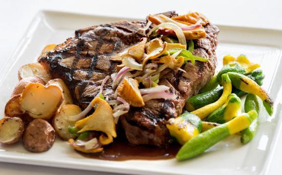 Williamstown, MA: Rib eye Steak