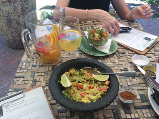 Paarl, Sudáfrica: The guacamole - amazing!