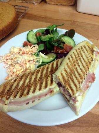 Deal, UK: Lean bacon and Brie Panini