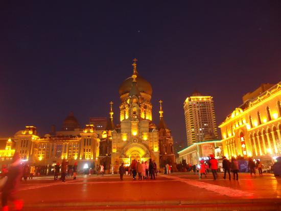 Saint Sophia Cathedral: Good view in the evening