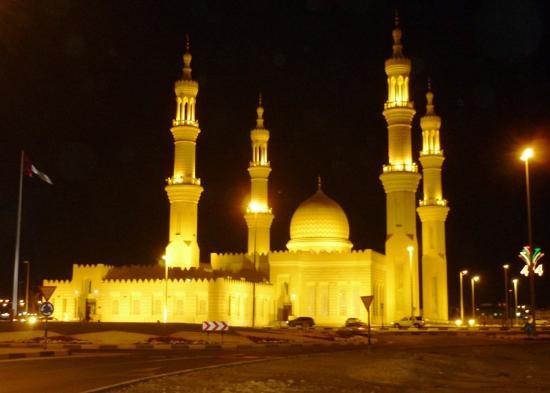 جامع الشيخ زايد الكبير: vista general