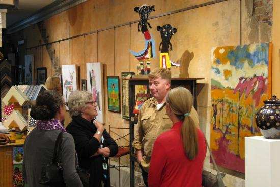 john cornbread anderson show opening 2015 picture of american