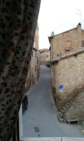 San Giovanni d'Asso, Italia: Vista dalla camera
