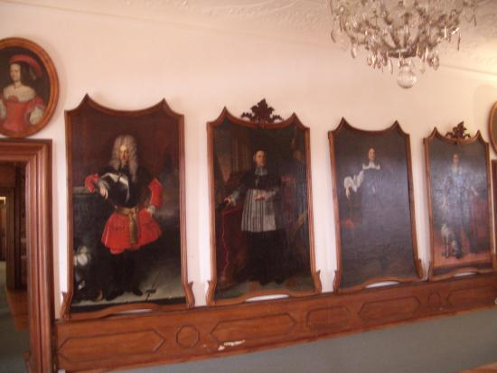 Ptuj, Slovenia: Some of the paintings in the many rooms