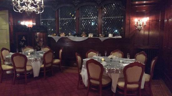 Hanover, بنسيلفانيا: Tables in the Mens Lounge
