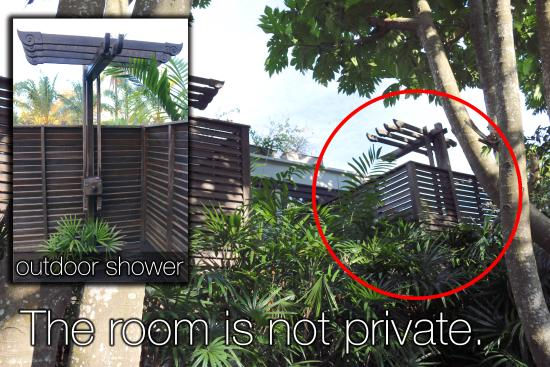 Anantara Mai Khao Phuket Villas: The room is not private!