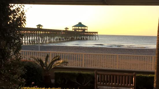 Folly Beach, SC: What a way to wake up!