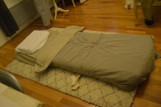 Maison Zen: letto zen molto comodo