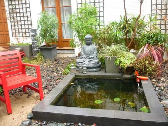 Maison Zen: giardinetto zen