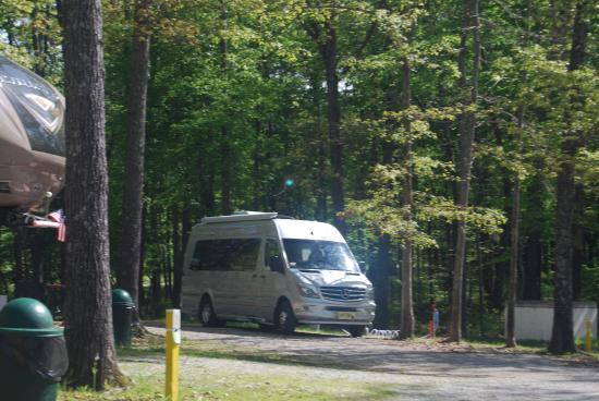 Tullahoma, TN: One of the camp sites on post.