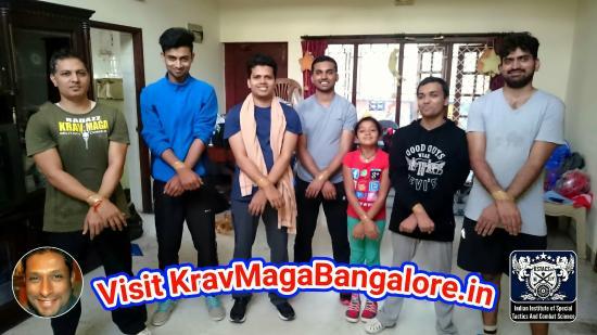 BadAzz Krav-Maga Self-Defense Military Combat Academy: Anti-Hostage workshop in #BadAzzKravMaga #SelfDefense by #FranklinJoseph #KravMagaBangalore #Kra
