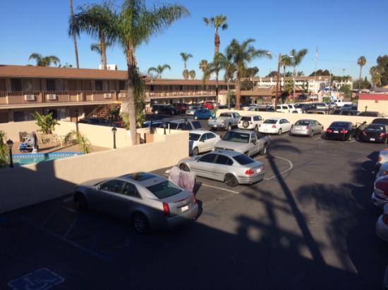 Чула-Виста, Калифорния: Hotelgelände