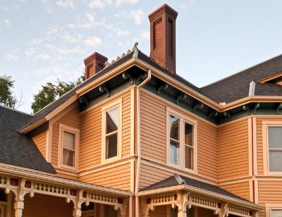 Macomb, IL: h exterior Bailey House