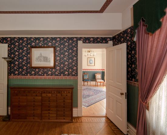 Macomb, IL: interior Bailey House