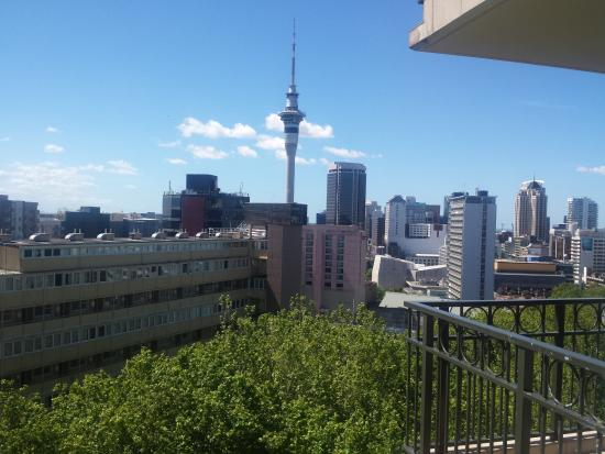 Amora Hotel Auckland: View from our room