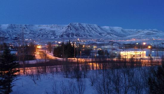Mosfellsbaer, Islandia: View from Suite