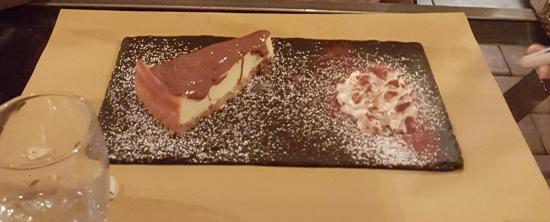 Segrate, Italia: Cheesecake con Nutella