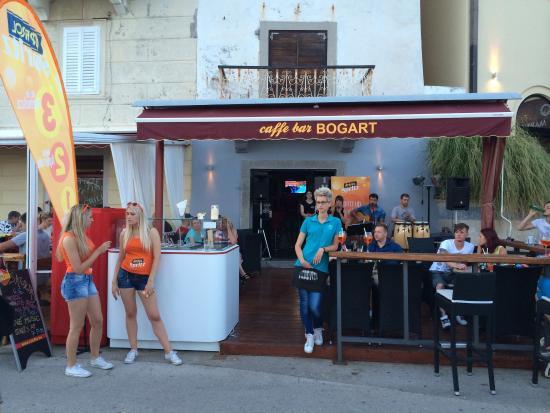 Krk Island, Croacia: Bogart