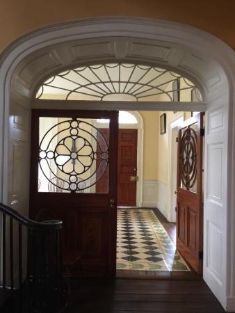 Nathaniel Russell House: Entry doors
