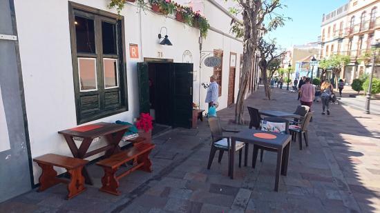Los Llanos de Aridane, Spagna: Entrance