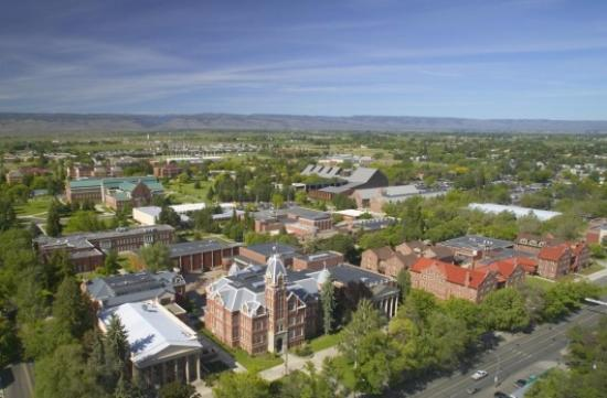 Ellensburg, Etat de Washington : cwu college, only 5 minutes away of how times have changed