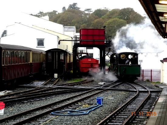 Taking on water in Porthmadog