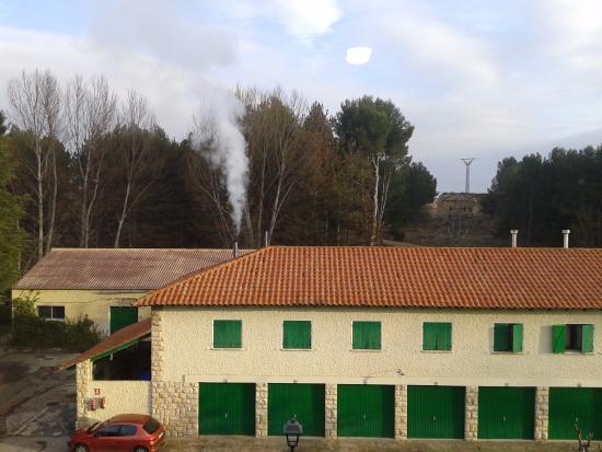 Parador de Teruel: Aparcamiento
