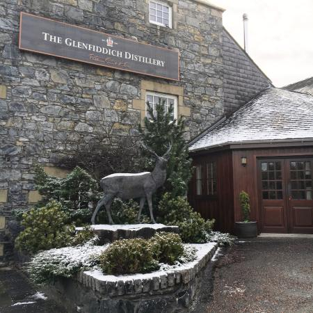 Dufftown, UK: Main Entrance to The Mash Tun - Distillery's Restaurant