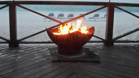 Treasure Cay, Great Abaco Island: Gorgeous Fire Pit
