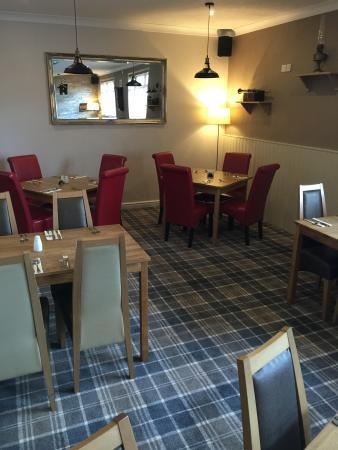 Lockerbie, UK: Our restaurant