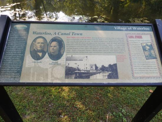 Stanhope, NJ: Information Sign