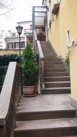 Hotel Locanda Gaffaro: Scale di accesso