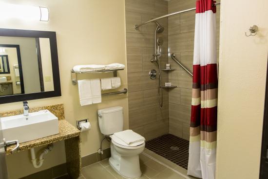 Huntsville, TX: ADA Accessible Bath
