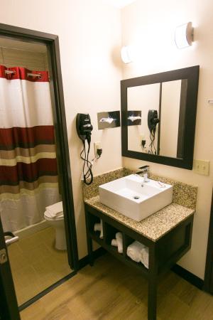 Huntsville, TX: Guest Bath with Vanity