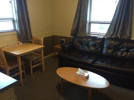 Lillooet, Canadá: Living room