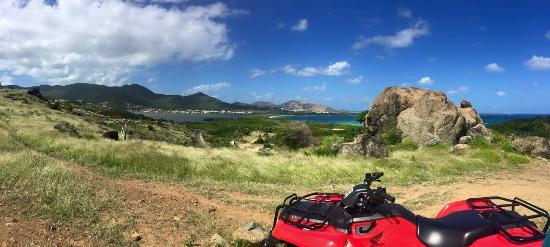 Oyster Pond, St. Martin: off roading!