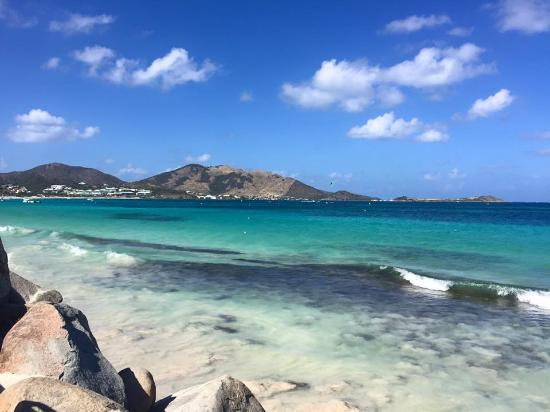 Oyster Pond, St. Martin/St. Maarten : One of the awesome beaches we stopped at