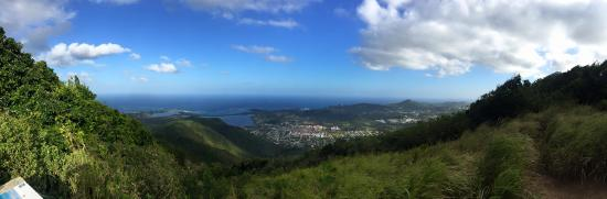 Oyster Pond, St. Martin/St. Maarten : Amazing views from the highest point in St Maarten