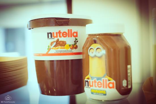 Bra, Italia: Nutella