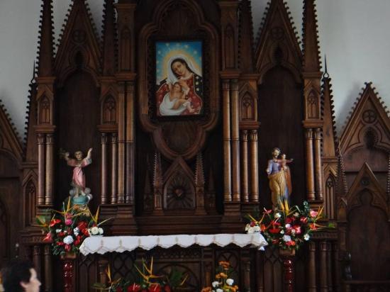 Timana, Colombia: ALTAR VIRGEN DE LOS MILAGROS DE TOBO