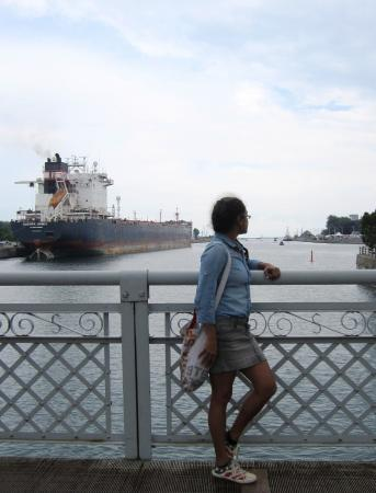 Port Colborne, Canada: At the canal