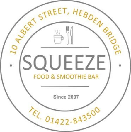 Hebden Bridge, UK: Squeeze Food & Smoothie Bar