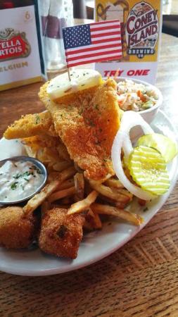 Lawton, OK: Our Catfish Platter