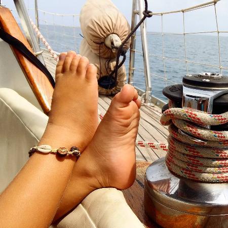 Бокас, Панама: relax en el velero