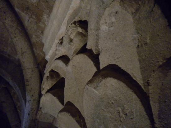 Acquapendente, Itália: Basilica Santo Sepolcro -Cripta