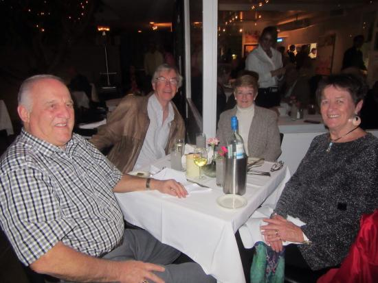 John Henry's: Charlie, Yvonne, Tom and Claire