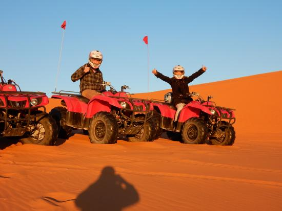 Morocco Excursions - Day Tours: quad driving