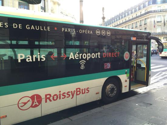 bus schedule picture of roissybus paris tripadvisor. Black Bedroom Furniture Sets. Home Design Ideas