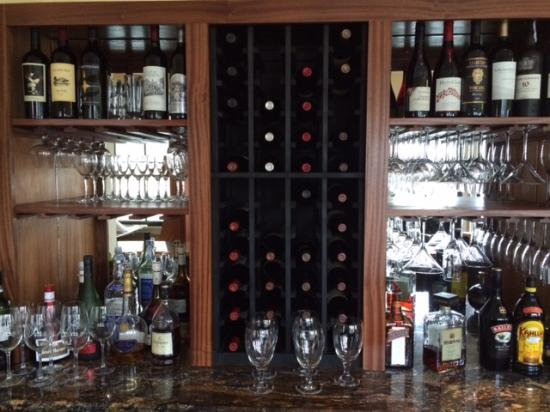 Bistro St. Michaels: Our new bar