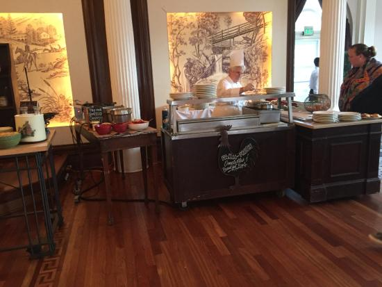 Hot Springs, Βιρτζίνια: Omni Homestead breakfast buffet